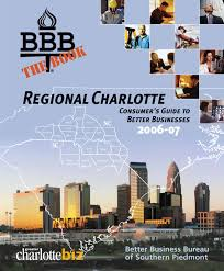 better business bureau directory 2006 07 by clt biz u0026 charlotte