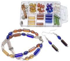 diy glass bead bracelet images Mixed media kits beadsnfashion jpg