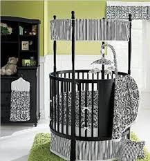 Round Convertible Crib by Advantage Of Round Crib Bedding Home Inspirations Design