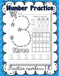 this is a great way to give kids extra practice with numbers 1 10
