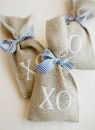 burlap favor bags lovely seaside nantucket wedding captured by jose villa