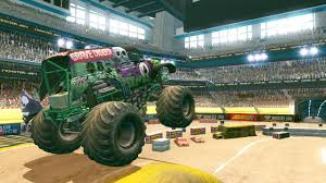 monster truck video games activision u0027s monster jam path of destruction officially named and
