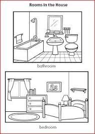 rooms in the house and prepositions worksheet teaching english