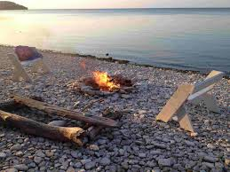 Beach Fire Pit by Splendid Ideas Of Beach Fire Pit With The Best Concept And View