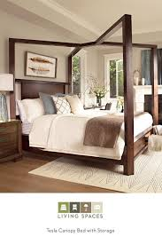 Beautiful Bed Frames Up To Beautiful Surroundings In The Tesla Canopy Storage Bed