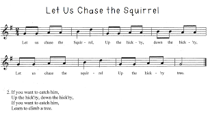 kodaly inspired classroom folk song friday let us chase the
