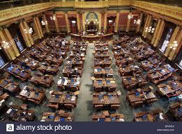 chambre des repr駸entants usa chambre des représentants dans le michigan state capitol lansing
