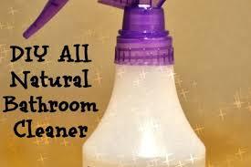 how to make natural bathroom cleaner diy natural bathroom cleaner
