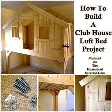 Build Your Own Wood Bunk Beds by Best 25 Build A Loft Bed Ideas On Pinterest Boys Loft Beds