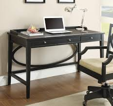 Desk With Computer Storage Furniture Black Desk With Drawers For Magnificent Home Office