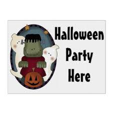 halloween party yard u0026 lawn signs zazzle