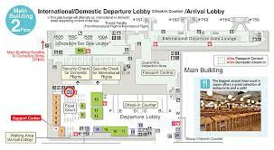 Narita Airport Map Genki Mobile Airport Departure Lobby Post Locations