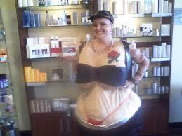 fat suit halloween biker tats in a fat suit knockout niki presents