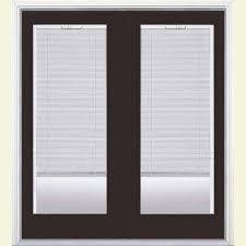Exterior Patio Blinds Blinds Between The Glass Brown Patio Doors Exterior Doors