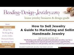 Rs Handmade - how to sell handmade jewelry using your sell handmade