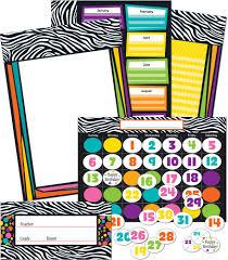 wild style bulletin board set grade pk 8 carson dellosa publishing