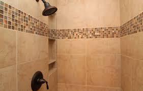 glass decorative tile master shower on time baths kitchens