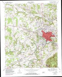 State Map Of Tennessee by Mcminnville Topographic Map Tn Usgs Topo Quad 35085f7