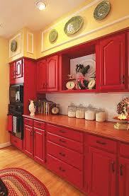 red cabinets in kitchen gorgeous red kitchen cabinets marvelous kitchen design ideas
