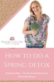 how to do a spring detox without starving yourself