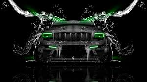 green jeep cherokee 2014 jeep grand cherokee srt8 front water car 2014 el tony