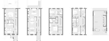 Row House Floor Plans Dean Street Passive House Urban Pioneering
