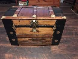 beautiful travel trunks trunks n treasures beautiful refinished antique flat top steamer