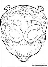 coloring pages halloween masks halloween masks coloring pages on coloring book info