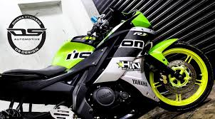 ds design yamaha r15 v2 neon green wrap