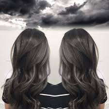 black grey hair 1000 ideas about gray hair on pinterest premature grey hair silver