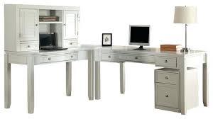 L Shaped Computer Desk White Desk L Shape Bethebridge Co