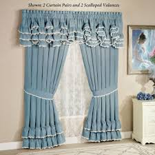 Valances For Living Room by Windows Scalloped Valances For Windows Decor Valances For Large