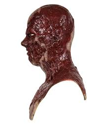 skinless zombie silicone mask cfx horror buy masks horror shop com