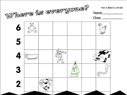 treasure hunt a year 3 direction position movement worksheet