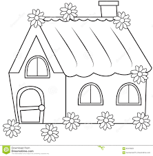 cute little house illustration stock illustration image 85479029