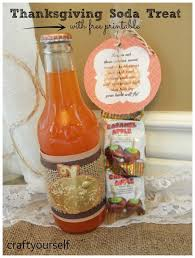 fall orange soda s with treat and printable printable crafts