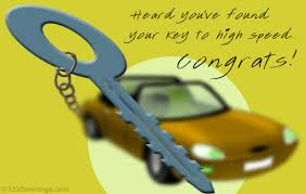 congrats on your new card congrats on your new car free new car license ecards 123
