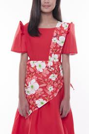 kimona dress filipiniana costume christening tagged floral barong