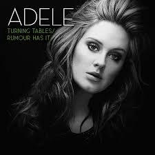 adele rumour has it glee adele turning tables rumour has it coverfire single cover
