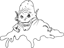 sea monster free coloring page coloring page of monster in