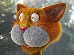 3d slike mačka pozadine aplikacije vektor govoreći pozadina 3d