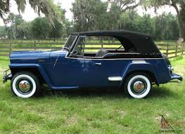 willys jeepster for sale willys overland jeepster concourse restoration
