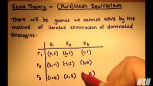game theory 3 pure nash equilibrium and best response
