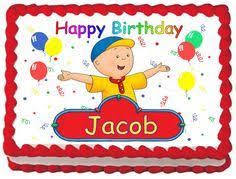 caillou cake topper 9 best caillou images on caillou cake cake fondant