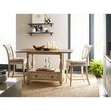 Cottage Kitchen Island by 3 Piece Kitchen Island Cottage Tall Gathering Table And Chair Set