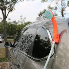 amazon com acetek portable camping shower 2017 upgraded usb