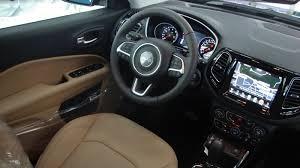 jeep compass limited interior jeep compass 2018 ganha versão limited diesel bancos de couro