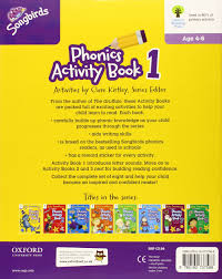 Activity Book For Children 1 6 Oxford Oxford Reading Tree Songbirds Donaldson S Songbirds Phonics