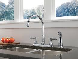 American Standard Hampton Kitchen Faucet by Platinum Centerset Delta Cassidy Kitchen Faucet Single Handle Side