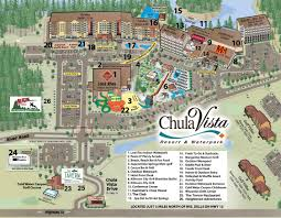 Map Of Wisconsin State Parks by Chula Vista Resort Map Chula Vista Resort Information Chula